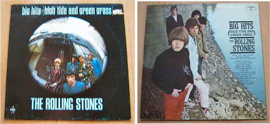 the rolling stones, Schallplattensammlung