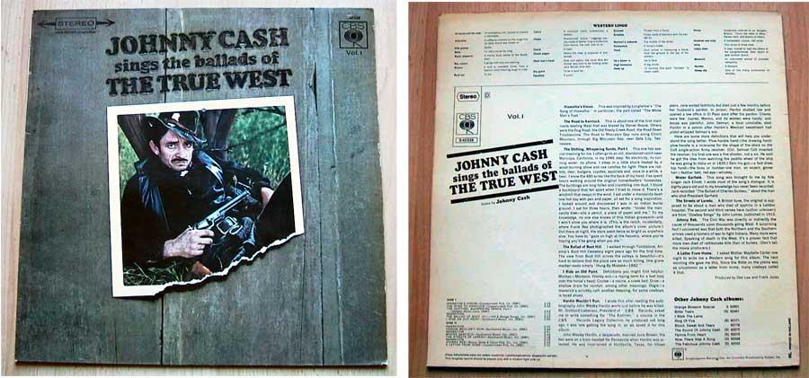 Gebrauchte Schallplatten Johnny Cash