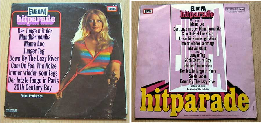 Europa Hitparade 4 - LP Vinyl von 1973