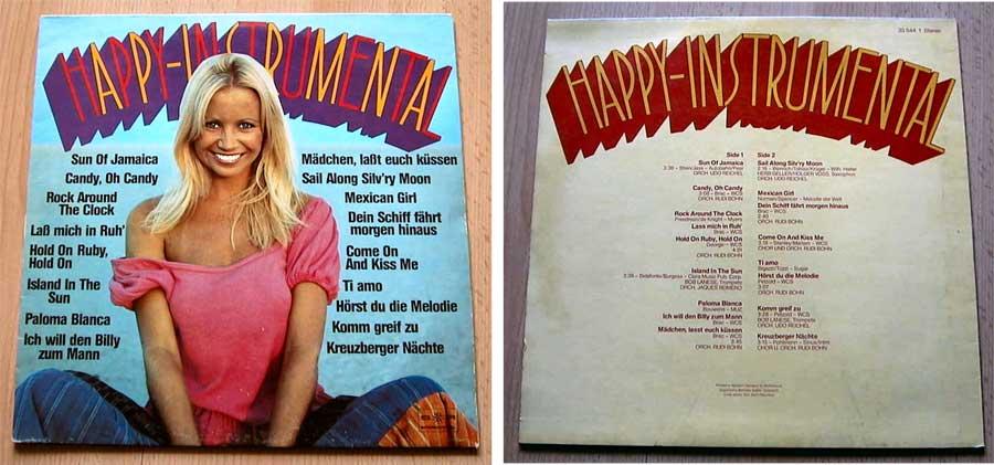 Happy Instrumental LP Vinyl von 1980