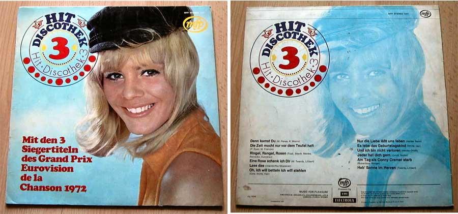 Hit Discothek 3 LP Vinyl von 1972