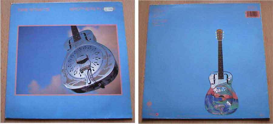 dire straits brothers in arms Schallplattencover