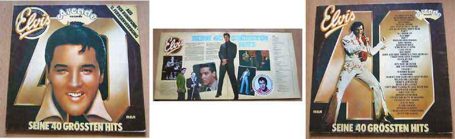 Musiksammlung elvis presley Schallplattencover