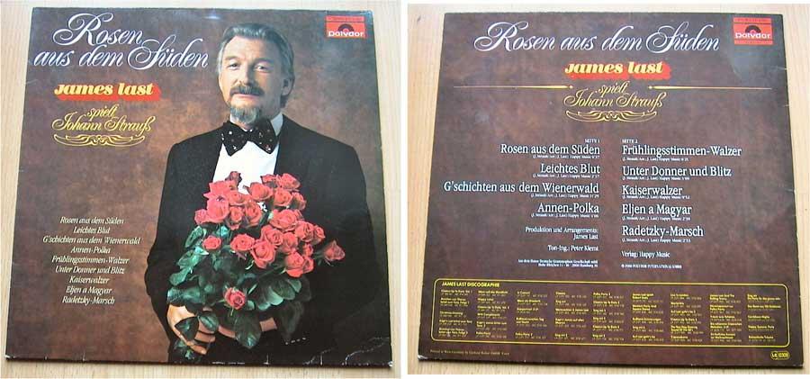 James Last - Rosen aus dem Süden - LP Vinyl von 1980
