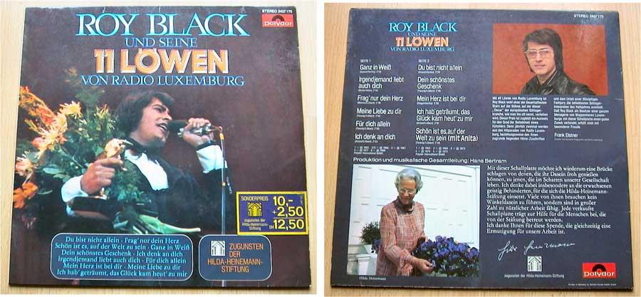 Roy Black Und Seine 11 Löwen - LP Vinyl von 1973