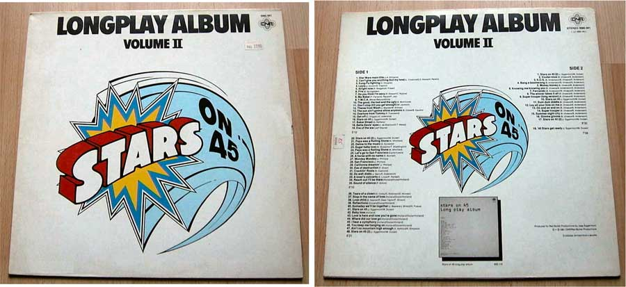 Stars On 45 Longplay Album (Volume II) LP von 1981