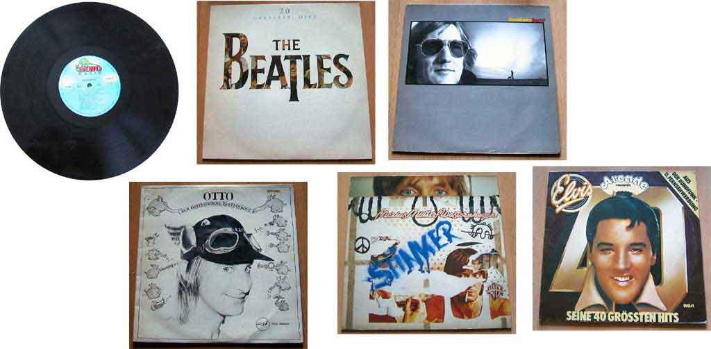 Musiksammlung Musikfan Schallplatten