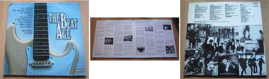 Musiksammlung the beat age Schallplattencover