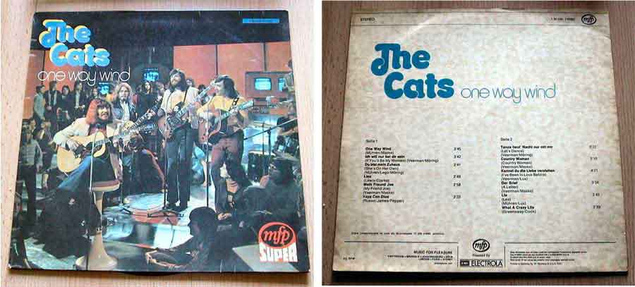 the cats one way wind Schallplattencover