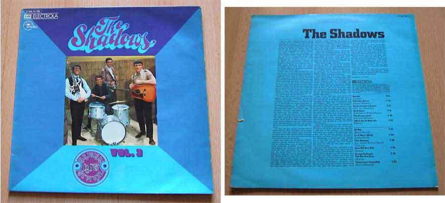 the shadows Schallplattencover