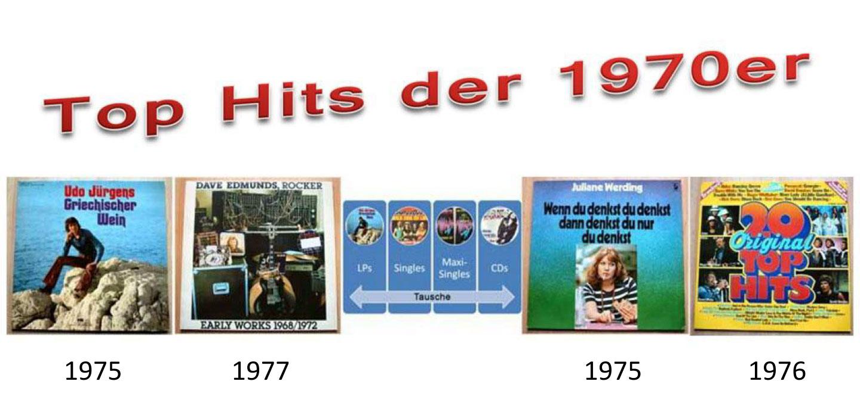 Unterhaltungsmusik auf CD und Schallplatten - Tausche