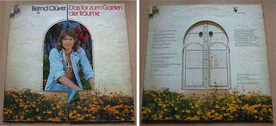 Schallplatte LP von Bernd Clüver