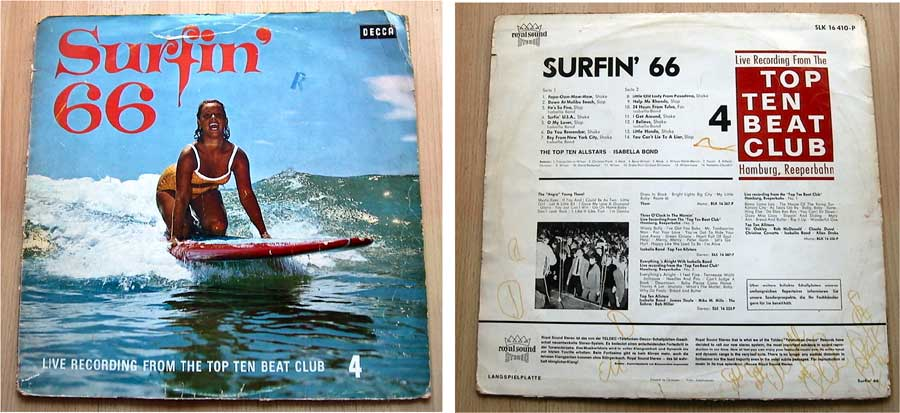 Surfin' 66 - The Top Ten Allstars Isabella Bond - LP Vinyl von 1966