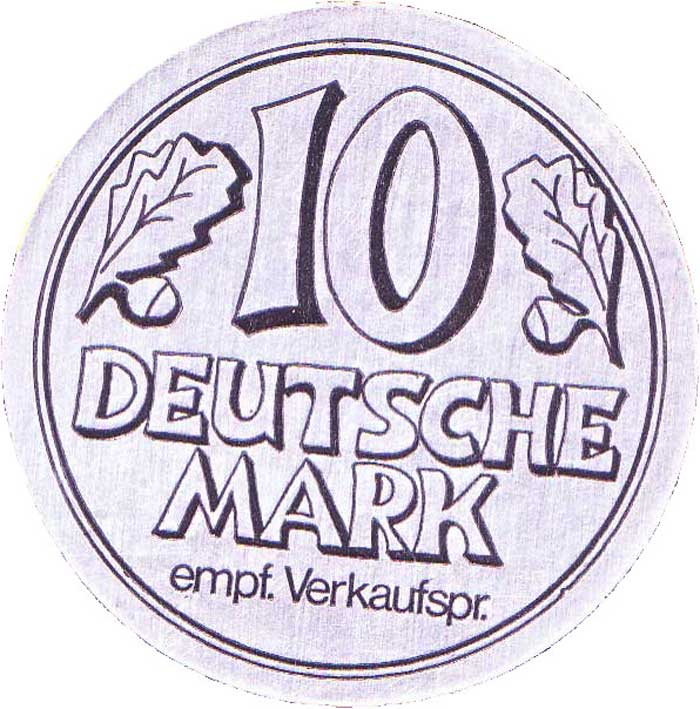 10 Deutsche Mark DM
