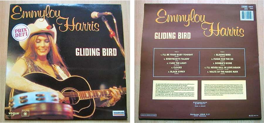 Westernmusik Emmy Lou Harris - Gliding Bird - LP Vinyl
