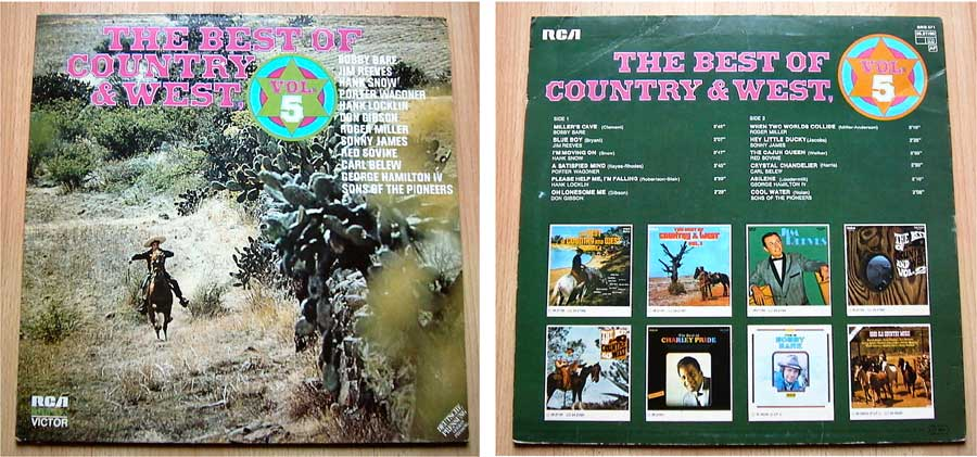 The Best Of Country & West - Vol. 5 - LP Vinyl von 1975