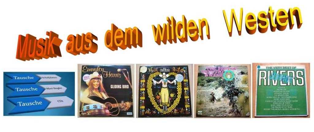 Westernmusik Westernlieder und Pop Giganten auf Vinyl