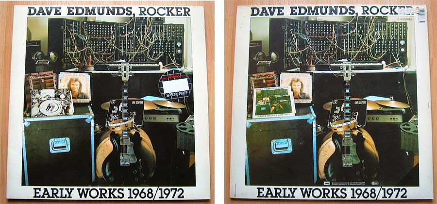 Dave Edmunds, Rocker - Early Works 1968/1972 - Doppel-LP Vinyl von 1977