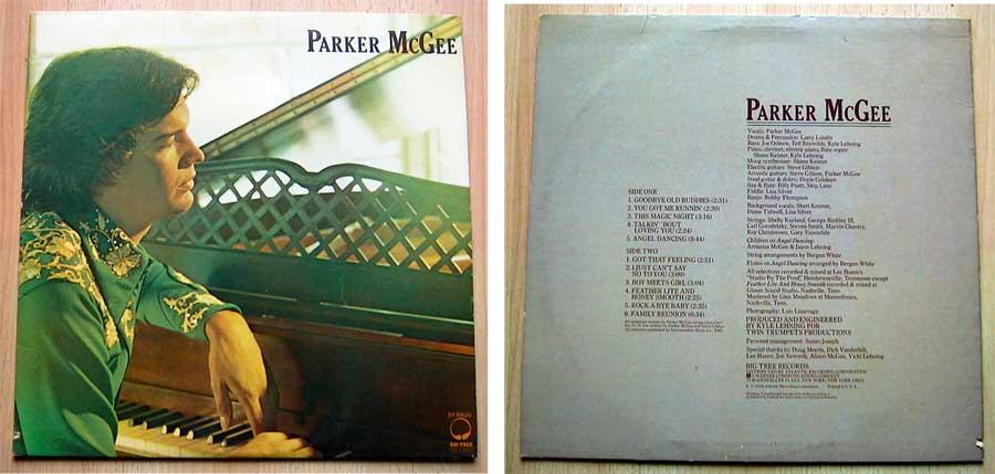 Parker McGee - Parker McGee - LP Vinyl von 1976