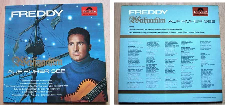 Freddy - Weihnachten Auf Hoher See - LP Vinyl von 1965