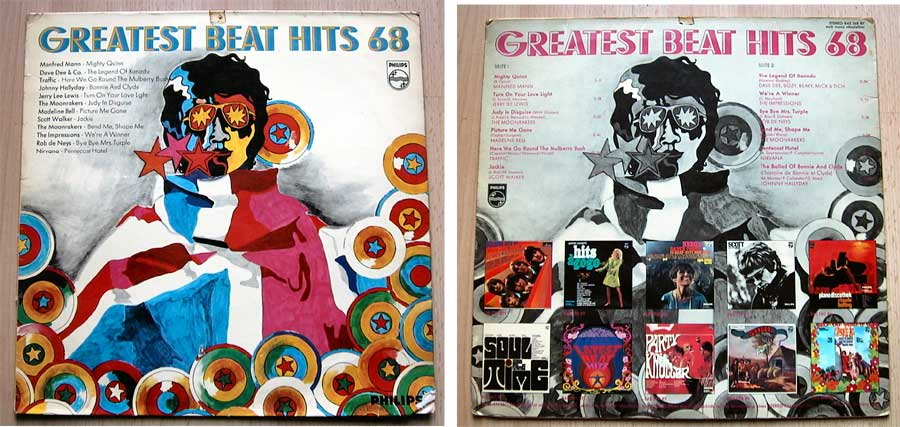 Greatest Beat Hits 68 - LP Vinyl von 1968