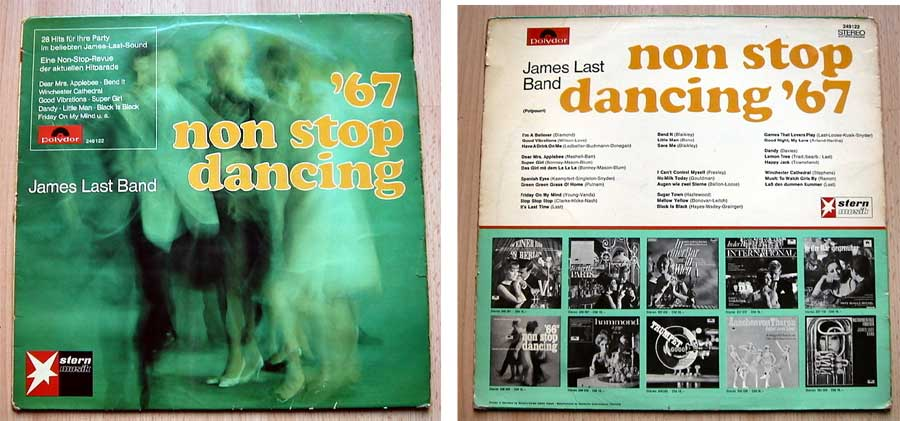 James Last Band - Non Stop Dancing '67 - LP Vinyl von 1967
