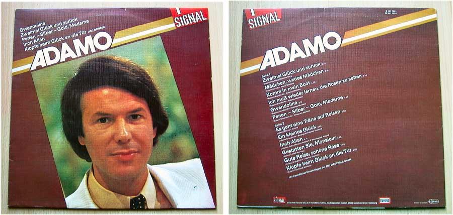 ADAMO - SIGNAL - LP Vinyl Goldene Hits 1982