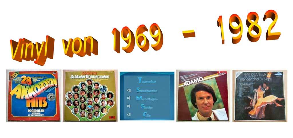 Schlager-Erinnerungen Goldene Hits auf Vinyl-Schallplatten