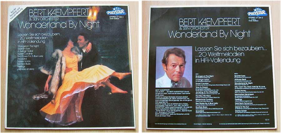 Bert Kaempfert und sein Orchester - Wonderland By Night - LP Vinyl von 1979
