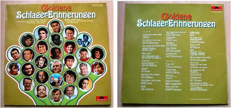 Schlager-Erinnerungen - LP Vinyl Goldene Hits 1969