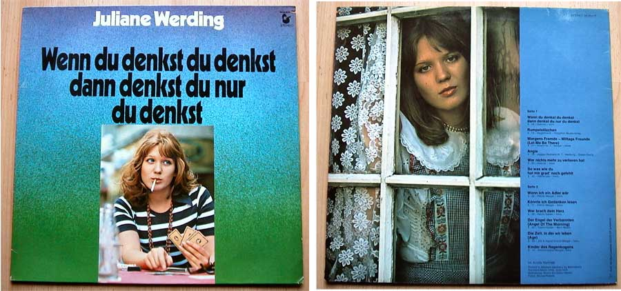 Juliane Werding - Wenn du denkst du denkst - LP Vinyl von 1975