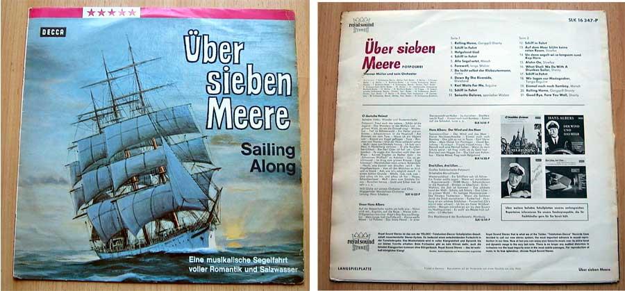 Seemannslieder - Über sieben Meere - Sailing Along - LP Vinyl von 1968