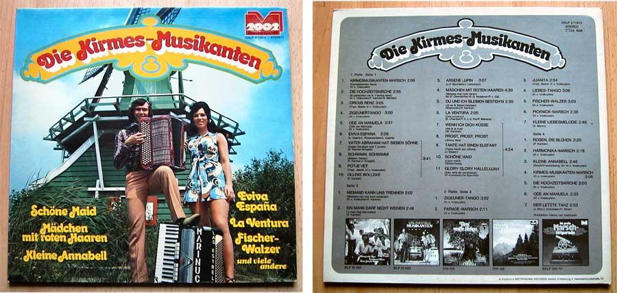 Die Kirmesmusikanten - Doppel-LP Vinyl von 1973