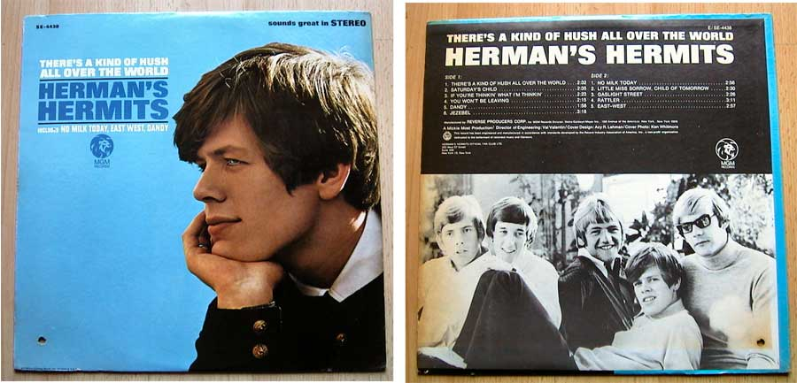 Herman's Hermits - There's A Kind Of Hush All