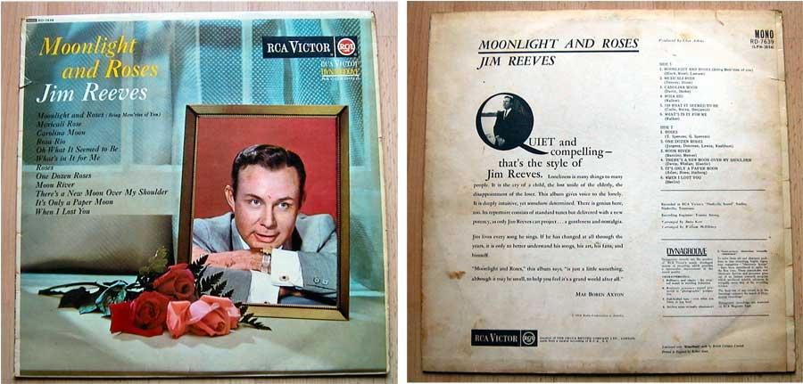 Jim Reeves, Moonlight And Roses, Oldie-Sammlung