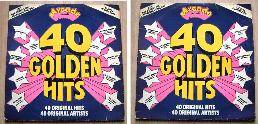 40 Golden Hits From The 50's & 60's - Doppel-LP