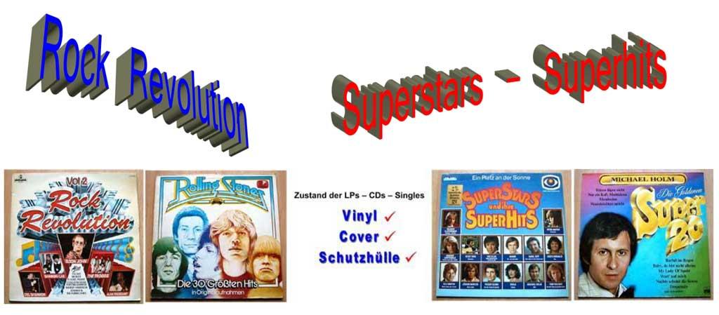 Superstars und Ihre Superhits auf LP 12 Zoll
