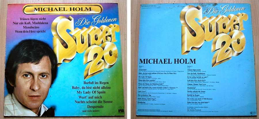 Michael Holm - Die Goldenen Super 20 - LP Vinyl von 1977