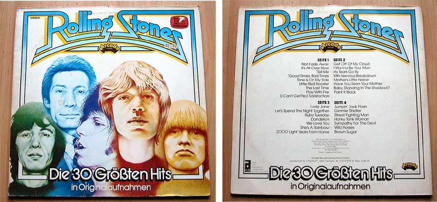 Rolling Stones - Die 30 Größten Hits - Doppel-LP Vinyl von 1977