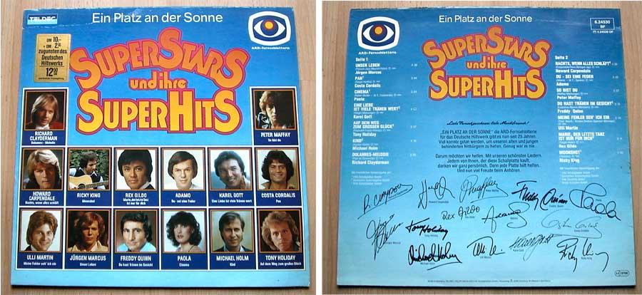 Superstars und ihre Superhits - LP Vinyl von 1981