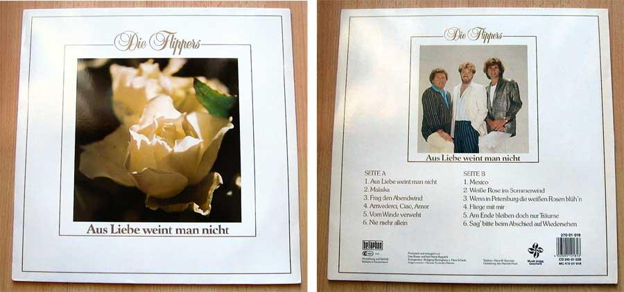 Die Flippers - Aus Liebe weint man nicht - LP Vinyl von 1987