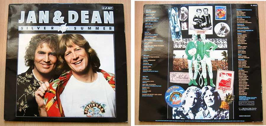 Jan & Dean - Silver Summer - Doppel-LP Vinyl, Album von 1986