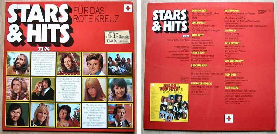 Stars & Hits Für Das Rote Kreuz, Retro Vinyl, LP