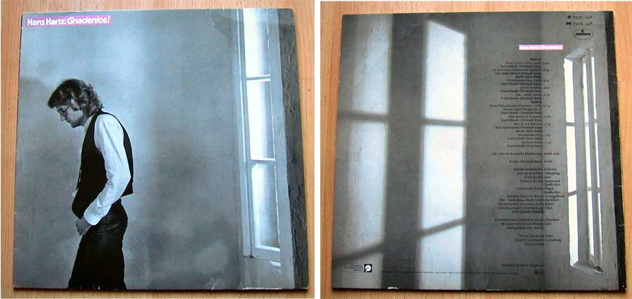 Hans Hartz: Gnadenlos! - LP Vinyl, Album von 1983