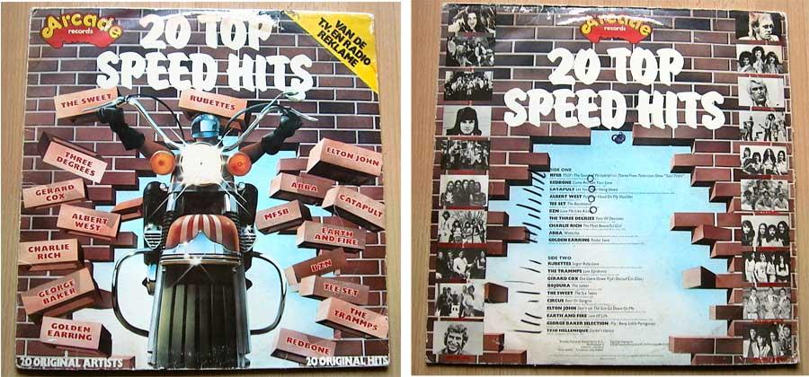 20 Top-Speed-Hits - 20 Original- Hits und Artists