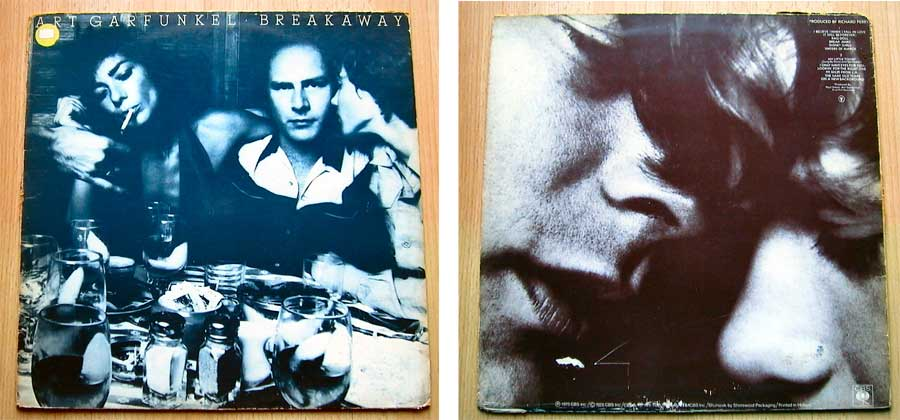 Art Garfunkel - Breakaway - Vinyl Top-Speed-Hits