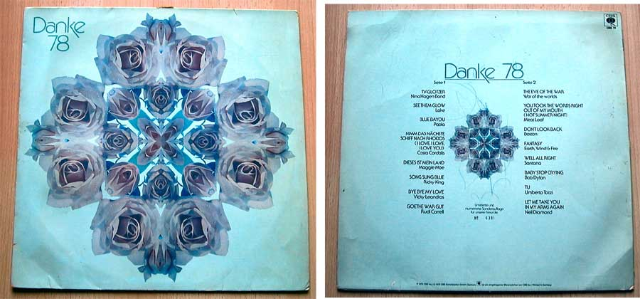 Danke 78 - Limitierte numerierte Sonderauflage - LP Vinyl von 1978