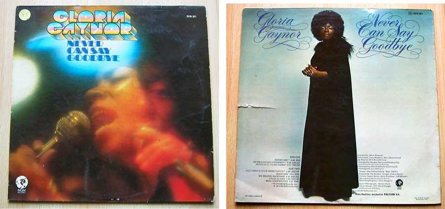 Gloria Gaynor - Never Can Say Goodbye - LP Vinyl