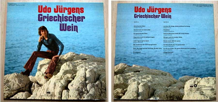 Udo Jürgens - Griechischer Wein - LP Vinyl von 1975