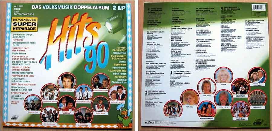 Das Volksmusik Doppelalbum auf Vinyl, LP